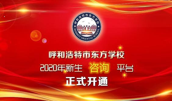 【东方学校】2020年新生咨询平台