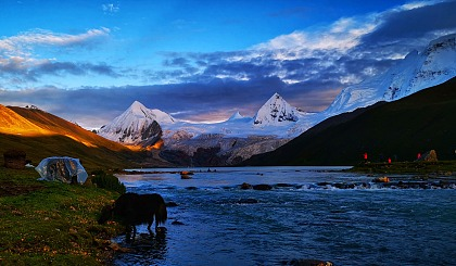 互动吧-【中华户外】【西藏】-观纳木措圣象天门-轻徒步萨普神山(可定制)