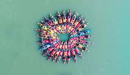 互动吧-周末,来一场酣畅淋漓的皮划艇新体验,感受速度与激情(苏州活动)