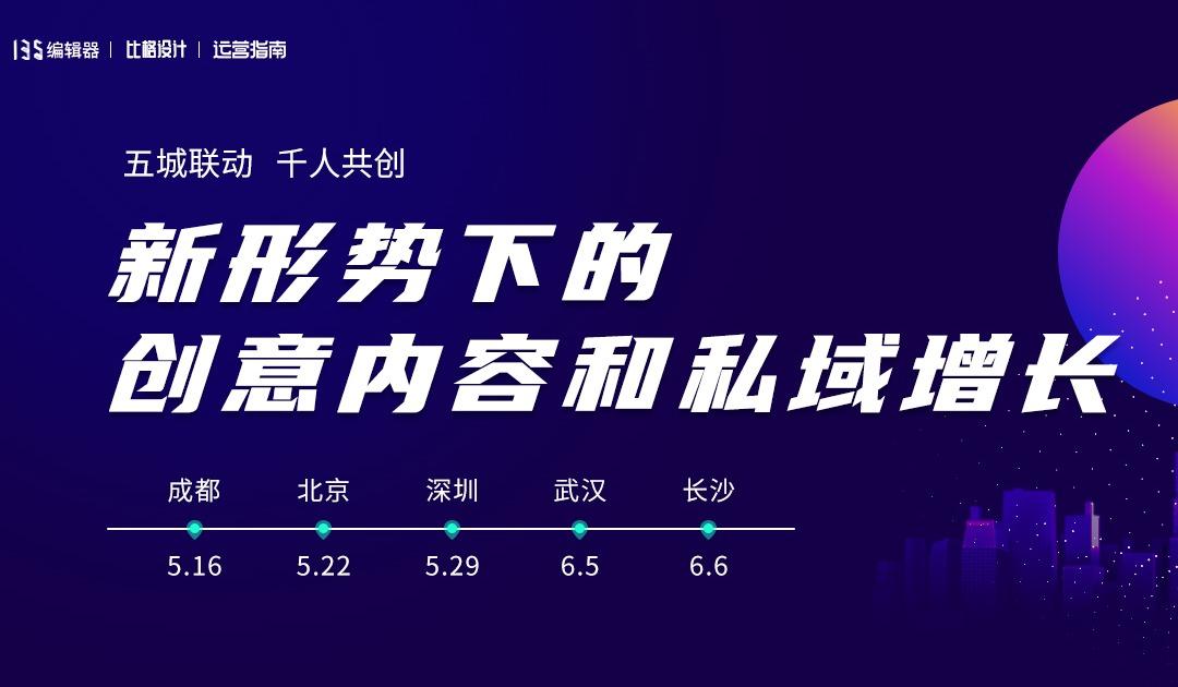 北京站/新形势下的创意内容和私域增长
