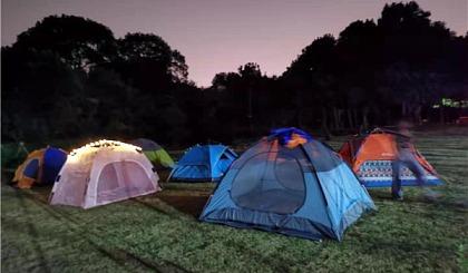 互动吧-长沙周边可以露营的农家乐 润兴山庄一日游